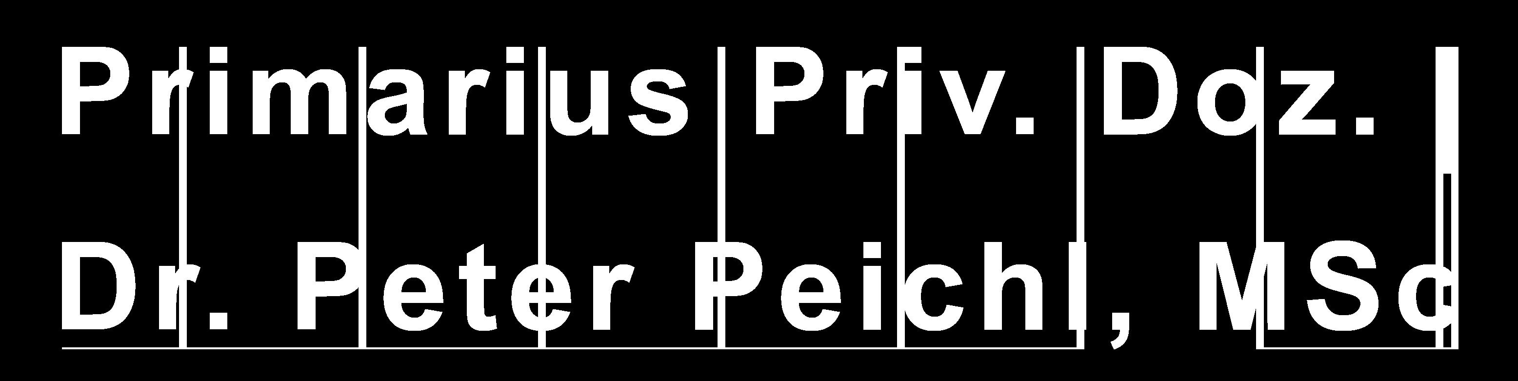 Dr. Peter Peichl